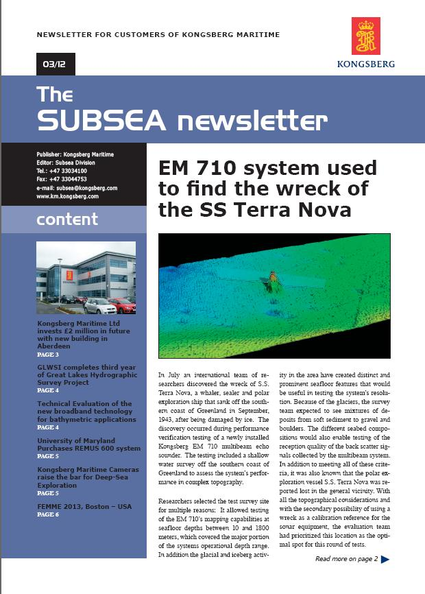 Subsea 3 2012
